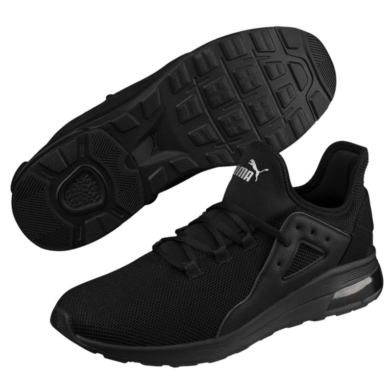Puma Electron 男 黑 運動鞋 休閒鞋 跑鞋 緩震 氣墊 透氣 運動 慢跑鞋 36730901