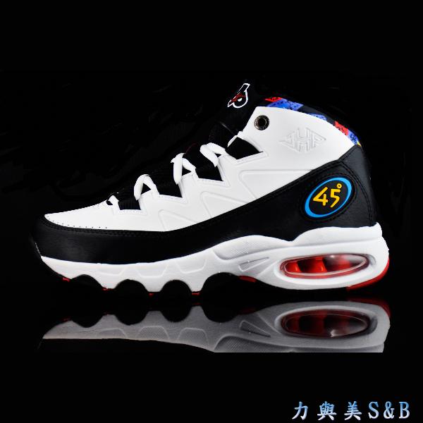 平價籃球鞋JUMP國內老品牌男籃球鞋後跟可見式氣墊鞋底耐磨性佳白色鞋面7033