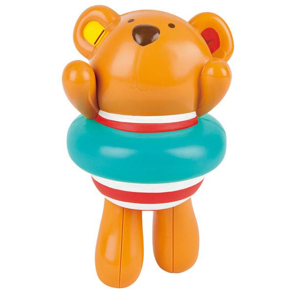 德國Hape愛傑卡游泳泰迪熊洗澡玩具~麗兒采家