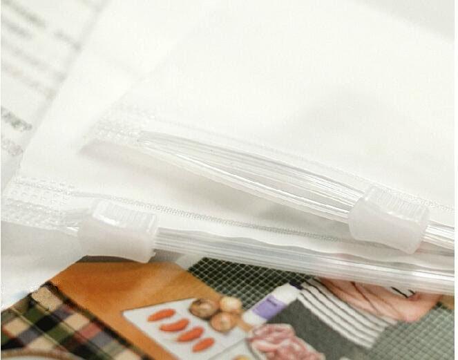 收納袋【ZDZ013】旅行磨砂密封收納袋(特小)30*20cm  收納女王