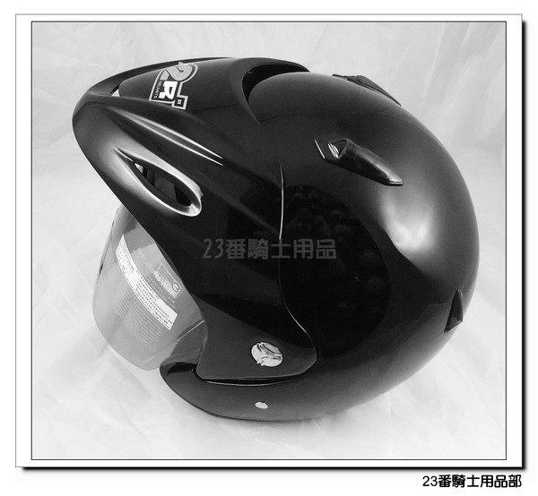 M2R SP 333紀念版素色黑3 4罩安全帽內襯全可拆免運費