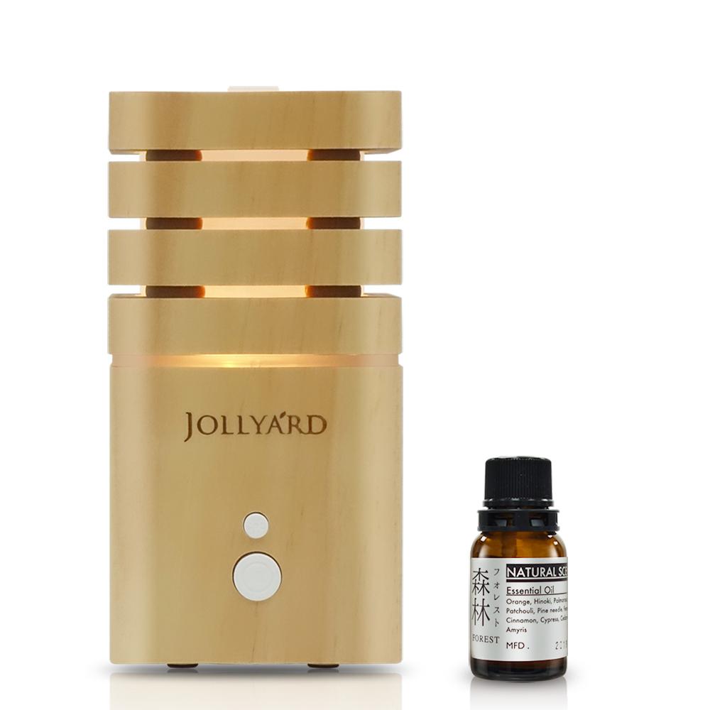 【Jollyard 潔麗雅】光采森活水氧機+ 香樂 森林精油 10ml