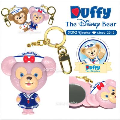 免運贈購物袋正版迪士尼Disney雪莉玫ShellieMay鏡子美容鏡化妝鏡吊飾掛飾鑰匙圈香港水手