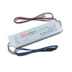 明緯電源 led電源供應器 明緯電源供應器 明緯MW LPV-60-12 投射燈電源 戶外防水電源 探照燈電源