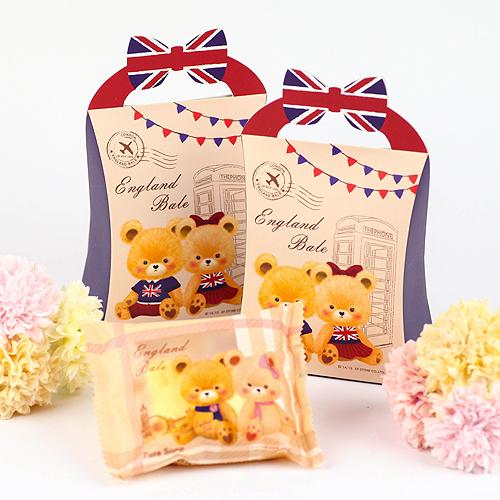 幸福婚禮小物英倫風小熊抗菌香皂10入喝茶禮探房禮送客禮活動禮物手工香皂