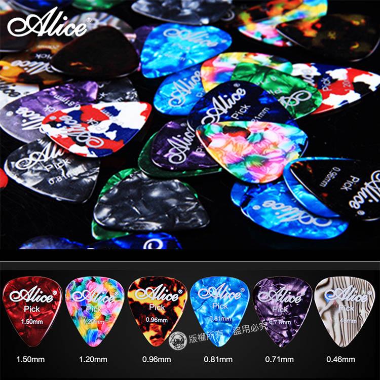 【小麥老師樂器館】PICK 彈片 (買4送1) ALICE AP-A 木吉他 烏克麗麗 吉他 撥片 【C1】