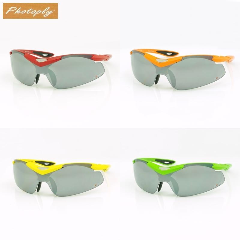 我愛買台灣製造PHOTOPLT淺水銀亮面防爆鎧甲031運動太陽眼鏡抗眩光眼鏡抗紅外線眼鏡防藍光眼鏡