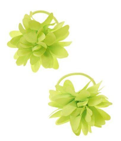Crazy 8髮飾   綠色花朵造型髮飾