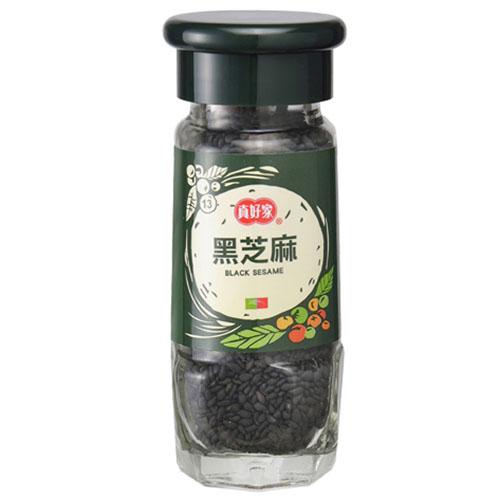 真好家綠瓶黑芝麻36g【愛買】