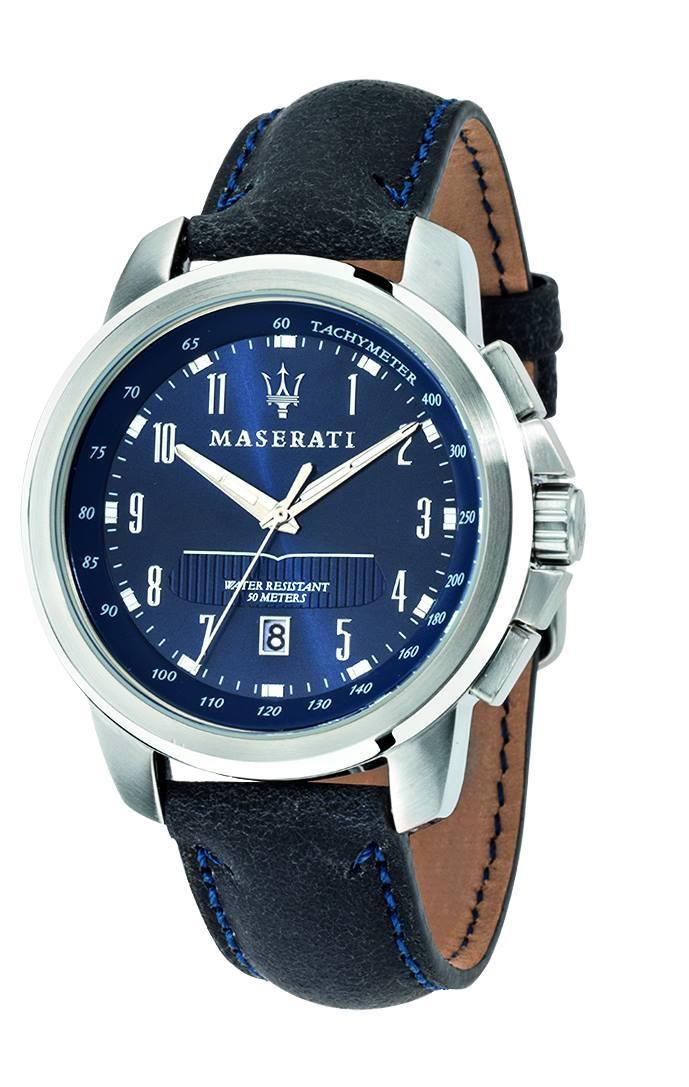 Maserati瑪莎拉蒂-台灣總代理公司貨-原廠保固兩年-簡約面盤精品腕錶手錶男錶女錶對錶