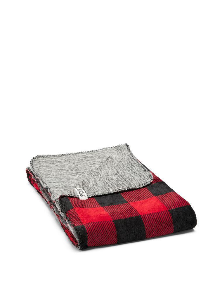 Victoria s Secret 維多利亞的秘密 PINK 毛毯 絕對真貨 美國帶回 紅
