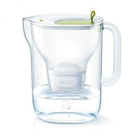 【BRITA】Fill&enjoy Style 純淨濾水壺﹝萊姆綠色﹞﹝內含一支濾芯﹞