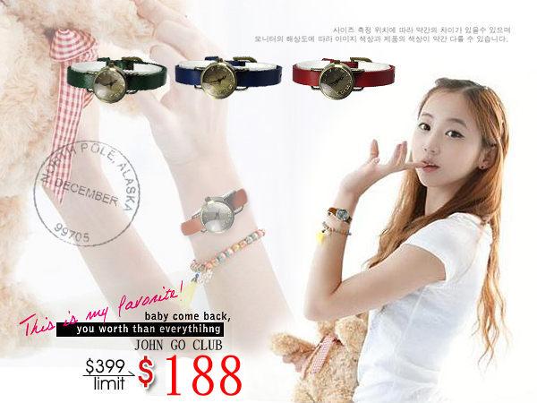 ☆匠子工坊☆【UQ0038】韓國連線 時尚羅馬復古懷舊女士細帶款 手錶/女錶/皮帶款