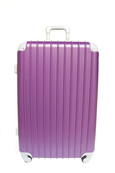 YC Eason超值流線型可加大款海關鎖ABS硬殼行李箱28吋-幻紫