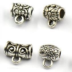 3藏銀合金三通批發每包5顆DIY設計手鏈腳鏈項鍊搭配中國繩或皮繩