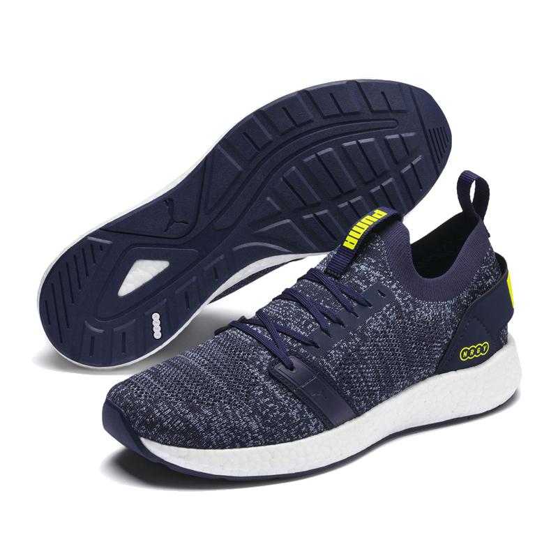 Puma NRGY 男 深藍 運動鞋 休閒鞋 慢跑 健身 運動 跑步 編織款 彈性 舒適 跑鞋 19109724