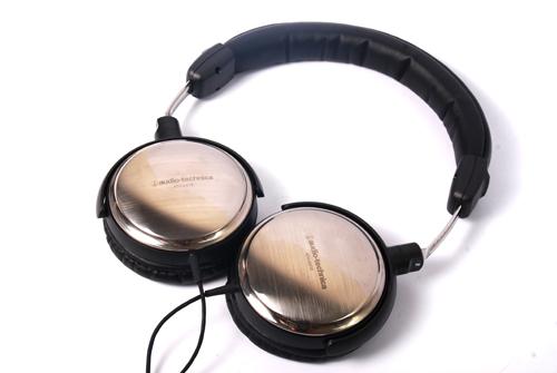 台中平價鋪全新鐵三角audio-technica ATH-ES10日本鐵三角鈦制耳罩式耳機台灣鐵三角公司貨
