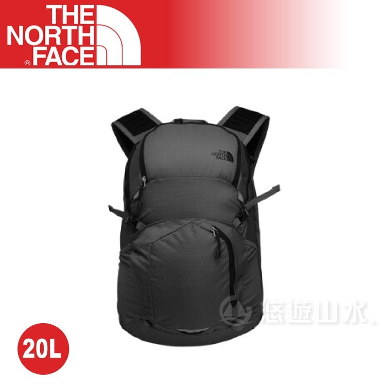 【The North Face 20L 輕量多功能背包《黑》】NF00CLG6JK3/電腦包/登山包/後背包/休閒背包