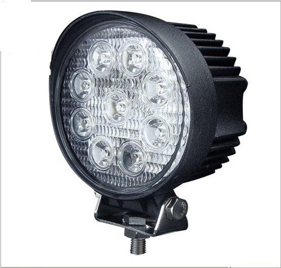 27W LED工作燈27w黃金光27w黃光12V~24V LED燈霧燈日行燈探照燈怪手貨車27w