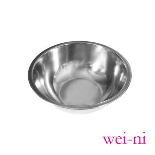 wei-ni正304不鏽鋼打蛋盆22cm調理盆西點糕點製作烘培用具沙拉盆攪拌菜盤料理盆鍋盆台灣製