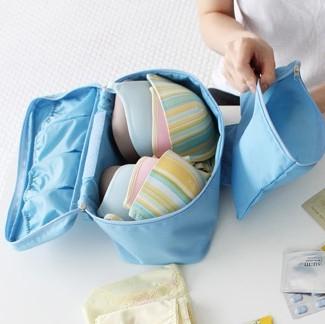 收納袋旅行收納袋行李收納袋衣物收納袋monopoly內衣袋便攜洗漱包旅行包包D1001