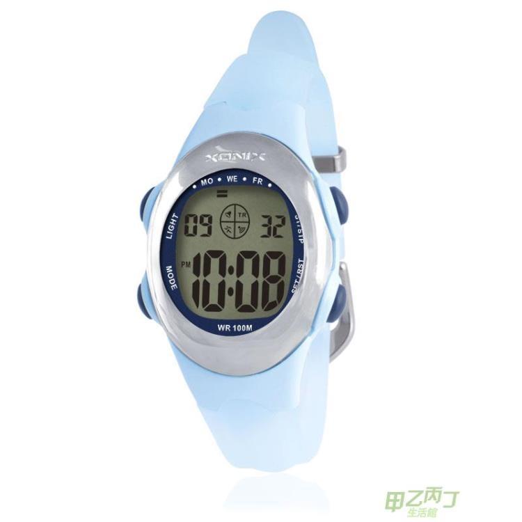 兒童手錶XONIX時尚多功能LED防水電子女人女孩女生兒童夜光電子手錶ADABtw甲乙丙丁生活館