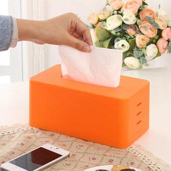 ♚MY COLOR♚簡約純色無印面紙盒 抽取 桌面 抽紙 衛生紙 餐巾 浴室 餐廳 紙巾 汽車【Q279】