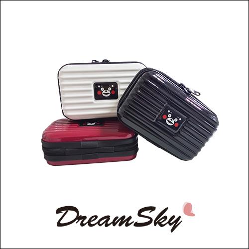 正版熊本熊Kumamon多功能過夜包盥洗用具多色整理置物收納日本熊本縣DreamSky