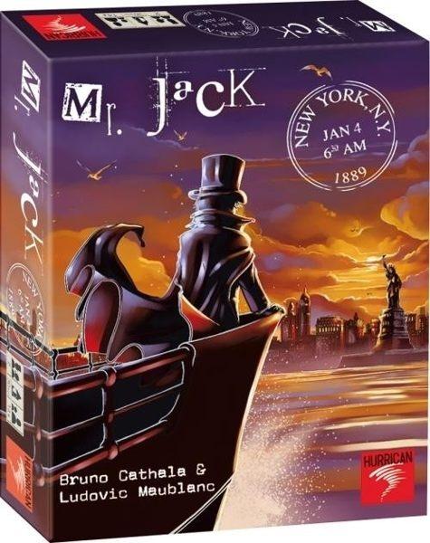 楷樂Mr.Jack in New York開膛手傑克紐約大逃殺國際正版桌遊德國益智遊戲中壢可樂農莊