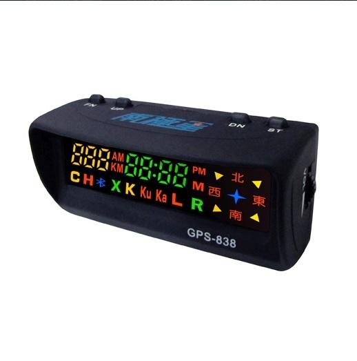 送三孔最新版南極星GPS 838 838衛星超速警示器單機版鑫晨汽車百貨