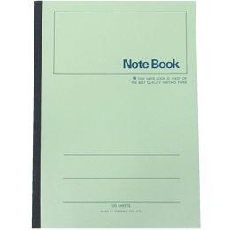 [奇奇文具]【加新 筆記本】加新 3PF18040 18K綠色平裝筆記本/筆記簿 (40入)
