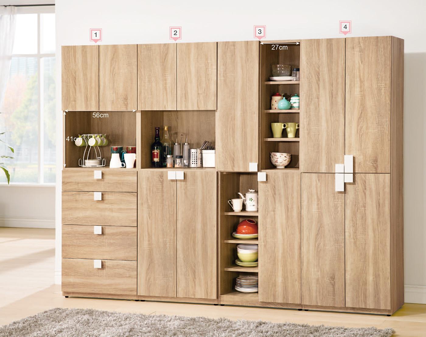 【森可家居】多莉絲8尺組合鞋櫃(全組) 6ZX767-2 客廳收納 餐廳廚房櫃 木紋質感 北歐 無印風