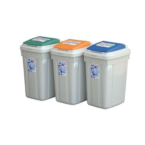 KEYWAY日式分類附蓋垃圾桶CL42愛買