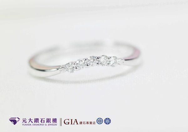 元大鑽石銀樓鉑金戒指真幸福I-Primo style結婚戒求婚戒對戒線戒