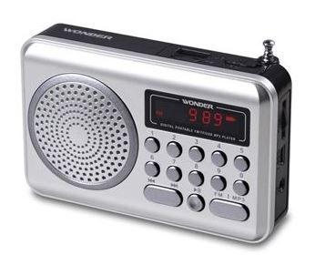 旺德USB/MP3/FM 隨身音響 WS-P006 (隨機出貨)