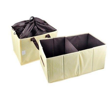 車用保冷保溫收納箱米黃色可折疊音樂影片購