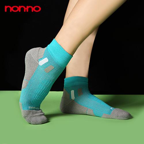 【non-no儂儂褲襪】(2入)男女適用科技運動襪-27129