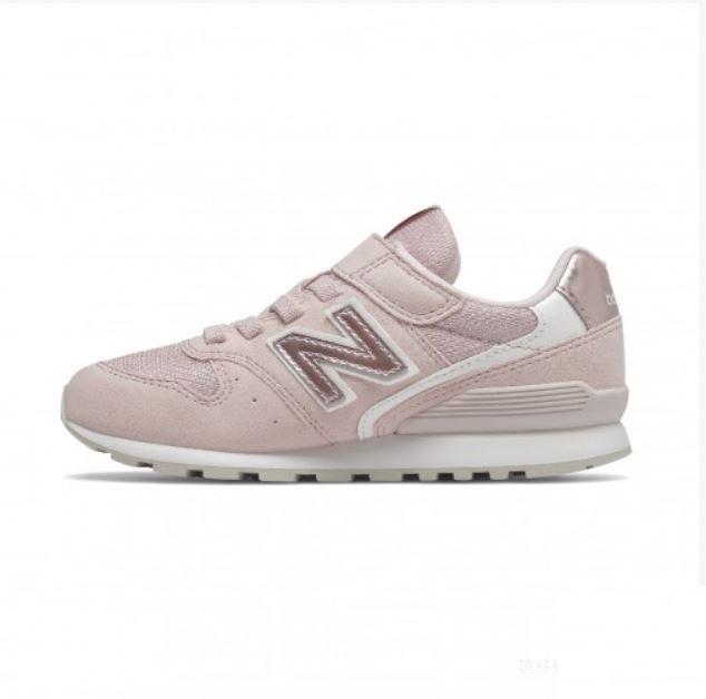 New Balance 4-7歲童鞋粉色運動鞋-NO.YV996PPK