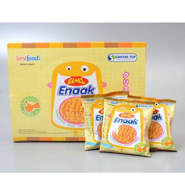 Enaak小雞點心脆麵隨手包一盒30包入