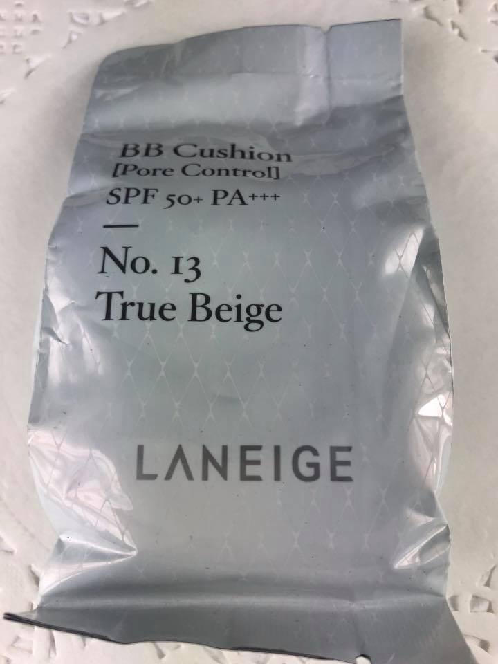 LANEIGE 蘭芝 BB舒芙蕾水凝霜-緊緻無痕/毛孔隱形/鑽采升級版15g (補充蕊【淨妍美肌】