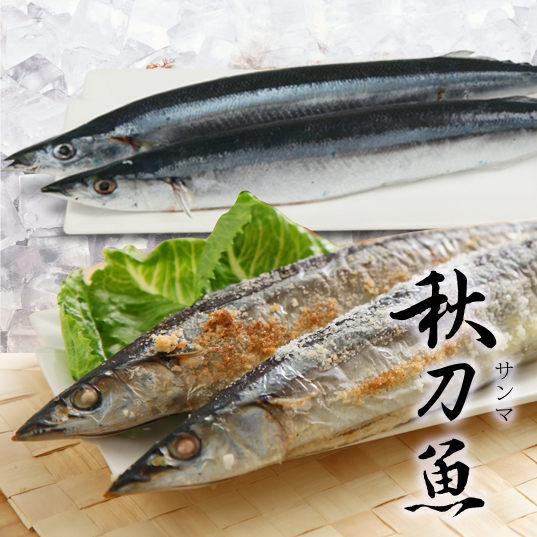 秋刀魚2尾/組