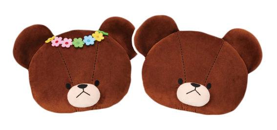 康是美-小熊學校-潔琪傑琪抱枕(共兩款)