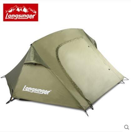 熊孩子❃單兵帳美國特種部隊 自動式帳篷單人帳篷雙層鋁桿戶外野營(主圖款軍綠色)