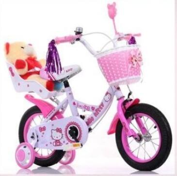 Hello Kitty兒童腳踏車自行車18寸潮咖範兒