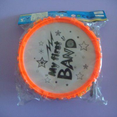 8吋爵士鼓((橘色)/發聲/打擊樂器/音樂玩具