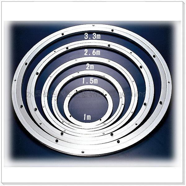 【水晶晶】SB7362-1轉盤專用鋼珠1尺鋁圈~~多尺寸可選