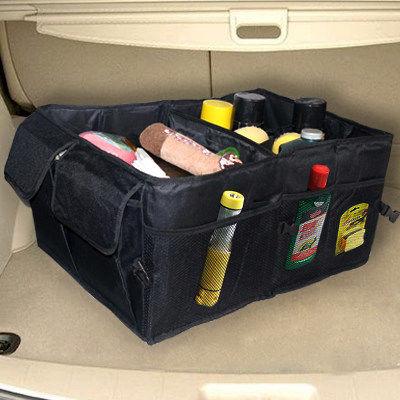 汽車后備箱儲物箱折疊車載置物箱收納箱盒多功能整理箱子車內用品