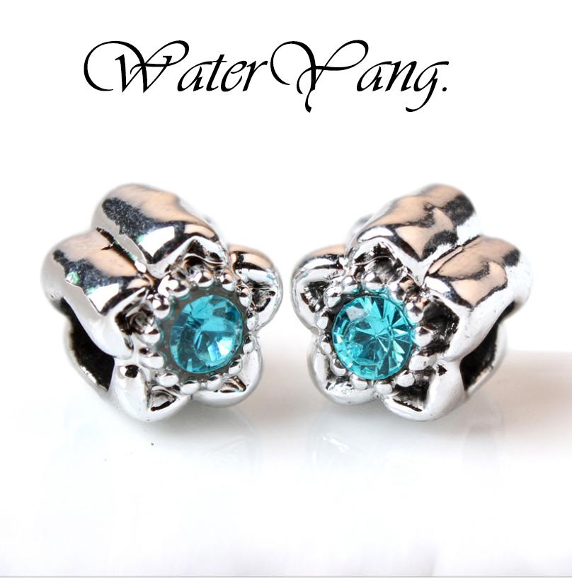 WaterYang.水漾× 海水藍寶-閃耀之星 潘朵拉風格串飾