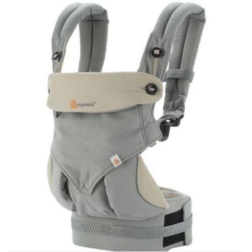美國Ergobaby 360度四向寶寶揹巾背巾背帶-灰色2年保固衛立兒生活館