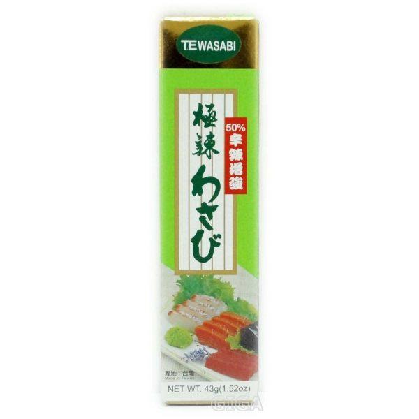 【吉嘉食品】極辣山葵醬/芥末條(43g) 1條43公克35元[#1]{CV1001}